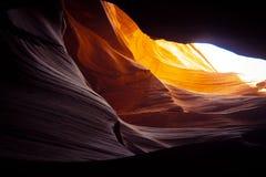 Красивый верхний каньон антилопы стоковые фотографии rf