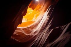 Красивый верхний каньон антилопы стоковая фотография