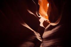 Красивый верхний каньон антилопы стоковое изображение rf