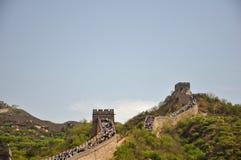 Красивый Великая Китайская Стена Стоковые Изображения RF