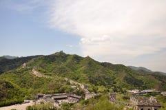 Красивый Великая Китайская Стена Стоковые Изображения