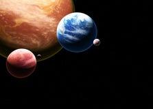 Красивый величественный космос Стоковые Фото