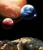 Красивый величественный космос Стоковая Фотография RF