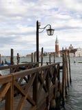 Красивый взгляд канала в Венеции Стоковые Изображения