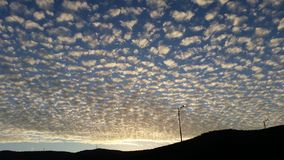 Красивый взгляд облаков Стоковые Фотографии RF