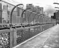 Красивый вид горизонта Сиднея от дорожки моста Стоковая Фотография RF