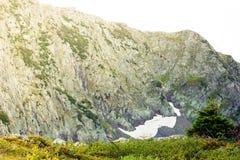 Красивый вид долины горы стоковое изображение rf