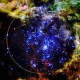 Красивый вид земли от космоса r стоковое фото