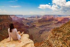 Красивый вид на национальном парке гранд-каньона стоковое фото rf