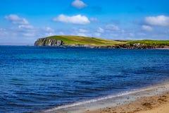 Красивый вид на Shetland стоковые изображения rf