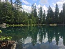 Отражения в озере стоковое изображение