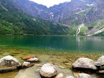 Красивый вид озера Стоковые Изображения RF