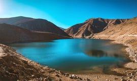 Красивый вид озера Lulusar, Kaghan Valley, KPK, Пакистана Стоковые Фотографии RF