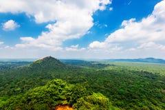 Красивый вид от Sigiriya стоковая фотография rf