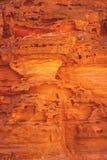 Красивый вид покрашенного каньона в Египте, красивая текстура утеса стоковые фотографии rf