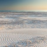 Красивый вид прибрежных дюн Стоковая Фотография RF
