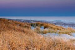 Красивый вид прибрежных дюн Стоковое фото RF