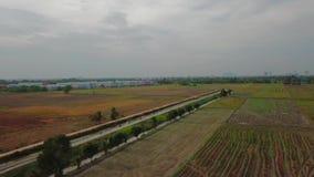 Красивый вид с воздуха Kedah Малайзии акции видеоматериалы