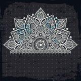 Красивый винтажный орнамент Стоковое фото RF