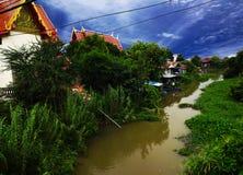 Красивый висок Бангкока Стоковые Фотографии RF
