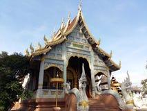 Красивый висок в Чиангмае Стоковое Изображение