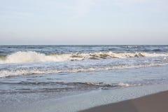 Красивый вид берега моря Стоковые Фото