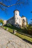 Красивый вид замка Niedzica, Польши, Европы Стоковое Изображение