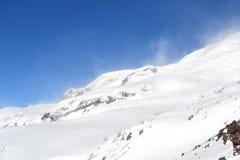 Красивый вид на горах Славный ландшафт гор зимы Стоковое фото RF
