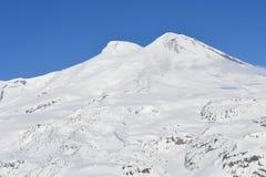 Красивый вид на горах Славный ландшафт гор зимы Стоковые Фото