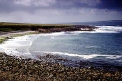 Красивый вид на море на Джоне O'Groats Стоковое фото RF