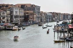Красивый вид от Венеции Стоковое Изображение