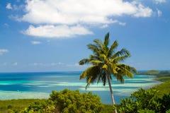 Красивый вид побережья острова Karimunjawa Стоковые Изображения