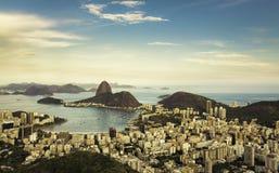 Красивый вид Рио-де-Жанейро, Бразилии стоковое фото rf