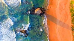 Красивый вид с воздуха 12 апостолов вдоль побережья Виктории, a Стоковые Фото