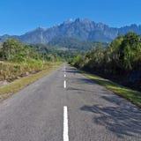 Красивый вид Mount Kinabalu Стоковая Фотография