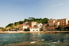 Красивый вид St Tropez Стоковое фото RF