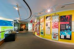 Красивый внутренний взгляд музея положения Калифорнии стоковая фотография