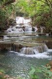 Красивый водопад, Таиланд стоковые фотографии rf