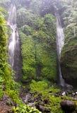 Красивый водопад Sekumpul - Бали, Индонезия Стоковые Фотографии RF