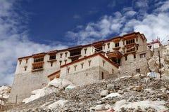 Красивый дворец Shey, Leh Стоковые Изображения RF