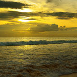 Красивый восход солнца Стоковые Фотографии RF