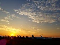 Красивый восход солнца стоковое фото