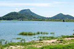 Красивый водный источник Стоковая Фотография