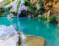 Красивый водопад, водопад Koe Luang Стоковые Изображения