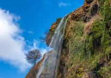 Красивый водопад в Марокко Стоковое Изображение RF