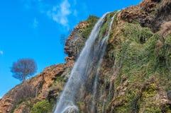 Красивый водопад в Марокко Стоковые Фото