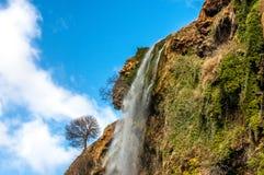 Красивый водопад в Марокко Стоковые Изображения RF