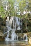 Красивый водопад в парке Стоковое фото RF
