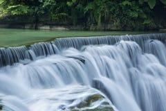 Красивый водопад в Тайване стоковое фото