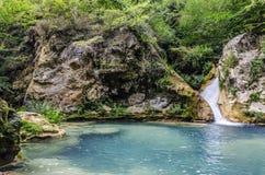 Красивый водопад Стоковые Фотографии RF